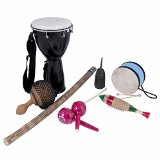 10-Piece Be Active Multicultural Music Kit (Teen/Adult) - explore the sounds of the world!