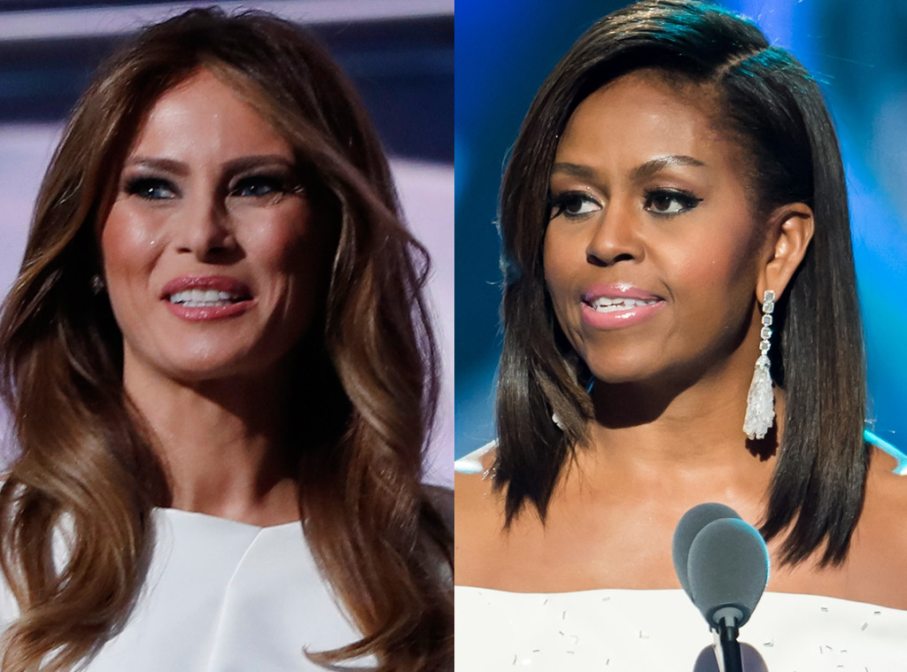 Melania Trump Basically Copies a 2008 Michelle Obama Speech at