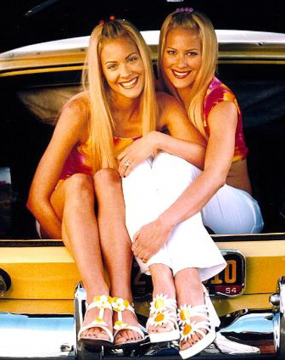 This Is What Sweet Valley High Twins Brittany and Cynthia Daniel
