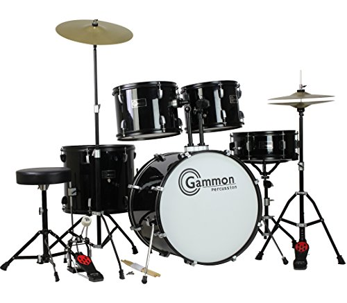 Gammon Percussion Full Size Complete Adult 5 Piece Drum