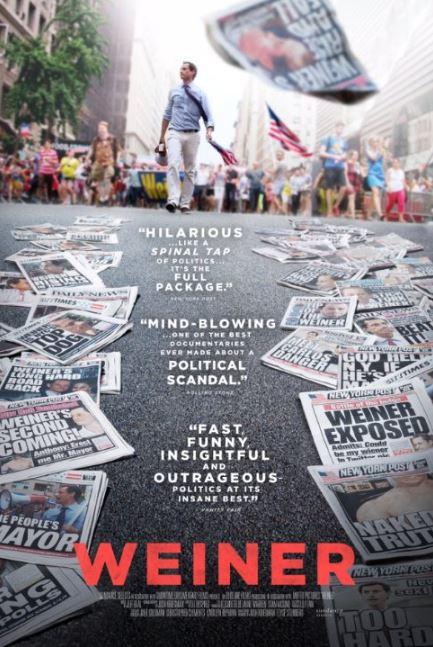 Showtime In Talks To Add Postscript To 'Weiner' In Wake Of