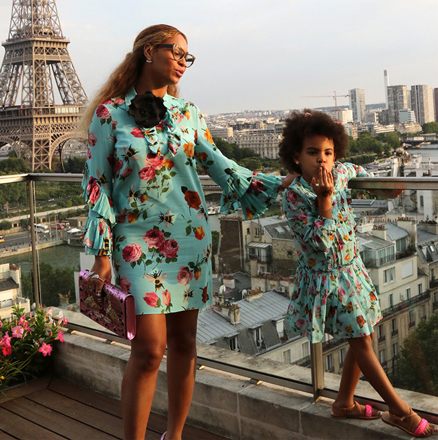 Beyoncé and Blue Ivy Are Twinning in Paris and It's Très