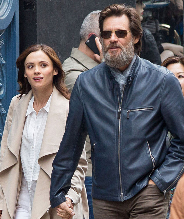 Jim Carrey's Girlfriend Cathriona White Left Suicide Note