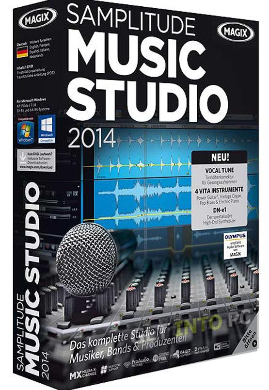 MAGIX Samplitude Music Studio 2014 [Download]