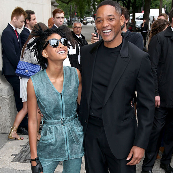 Willow Smith's Chanel Couture Show Date: Proud Dad Will