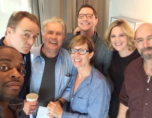 'West Wing' Cast Stumps For Hillary Clinton In Ohio This