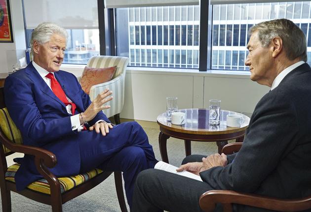 Bill Clinton Says Hillary Dehydration Reax Not First Time,
