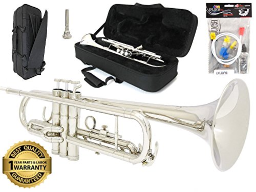D'Luca 500N 500 Series Plated Standard Bb Trumpet with