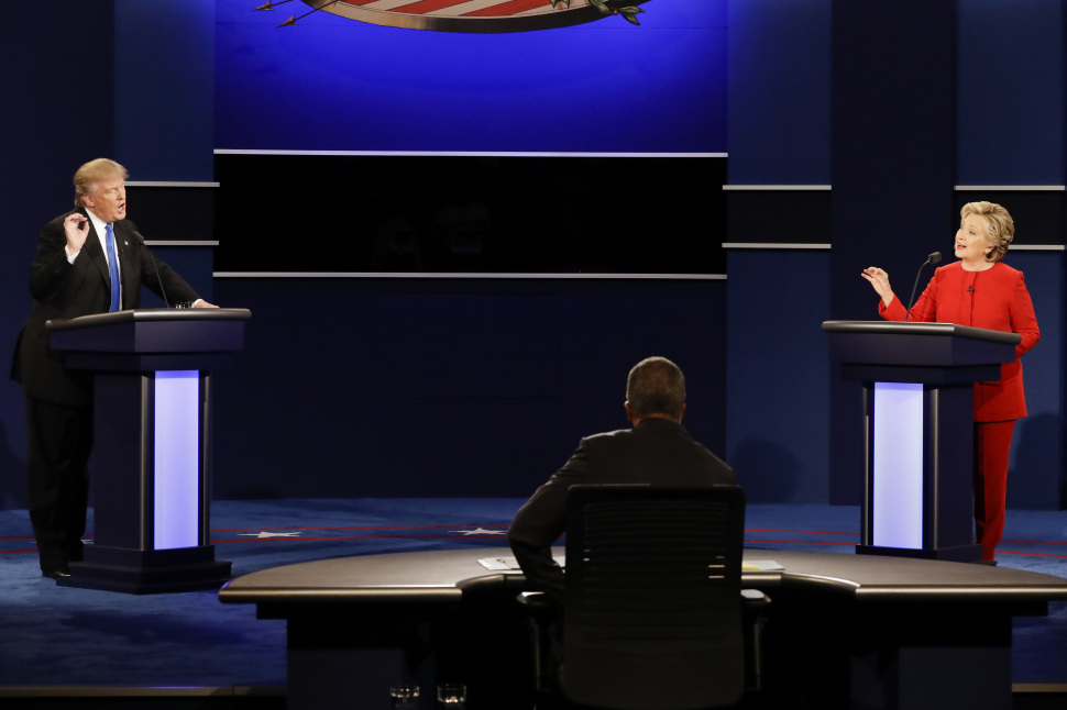 Donald Trump Vs Hillary Clinton Debate Most Watched In TV