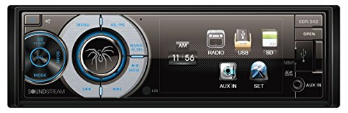 Soundstream SDR-342 Single-Din Digital Media Receiver with