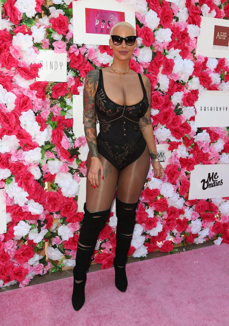 Amber Rose: 'Famous Men Have Touched Me