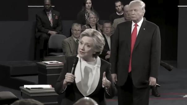 Danny Elfman Scores Psycho-Worthy 'Trump Stalks Hillary'