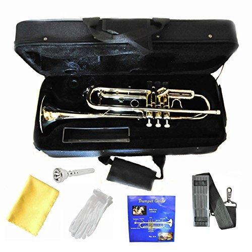 Hallelu HTP-200 Bb Trumpet W/pro Case 1 Year Warranty.