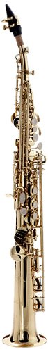 Hawk WD-S413 Straight Soprano Saxophone Gold with Case,