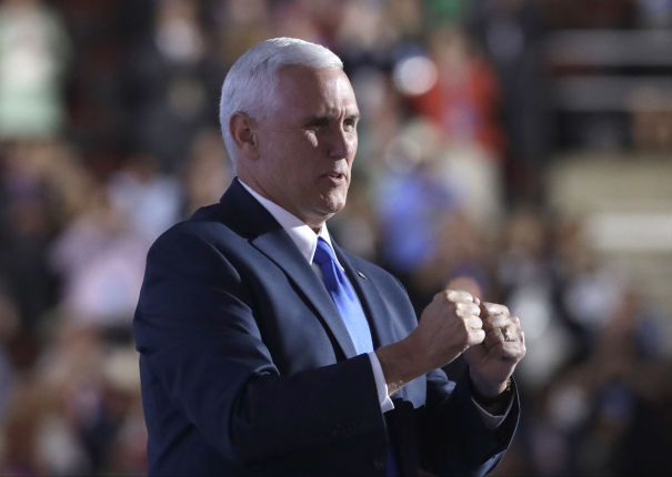 Mike Pence Goes To Ground Through Sunday's Debate After
