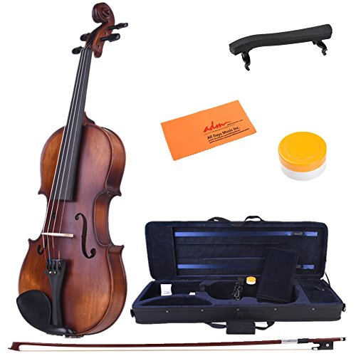 ADM 4/4 Full Size Intermediate Solid Wood Acoustic Violin