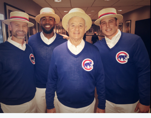 Bill Murray, Dana Carvey, Chicago Cubs Make Surprise