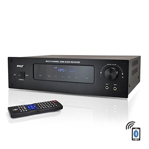 Pyle PT592A 5.1 Channel Home Theater AV Receiver, BT