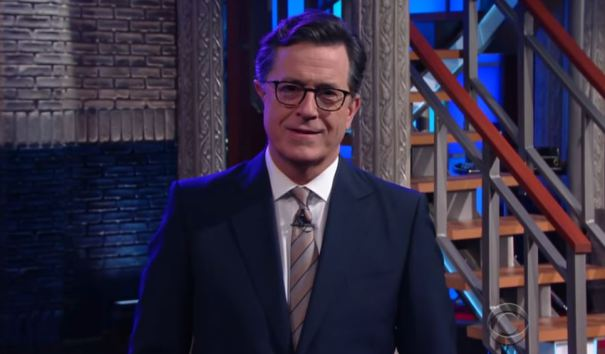"Stephen Colbert: Trump Meets Obama In ""Most Surprising"