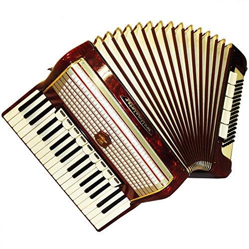 Weltmeister Piano Accordion, German Keyboard Accordian For