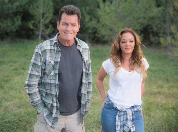 'Mad Families' Trailer: Charlie Sheen & Leah Remini
