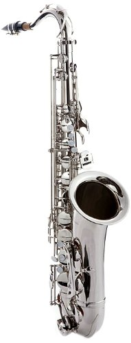Hawk WD-S411C-NK Tenor Saxophone Nickel Finish with Case,