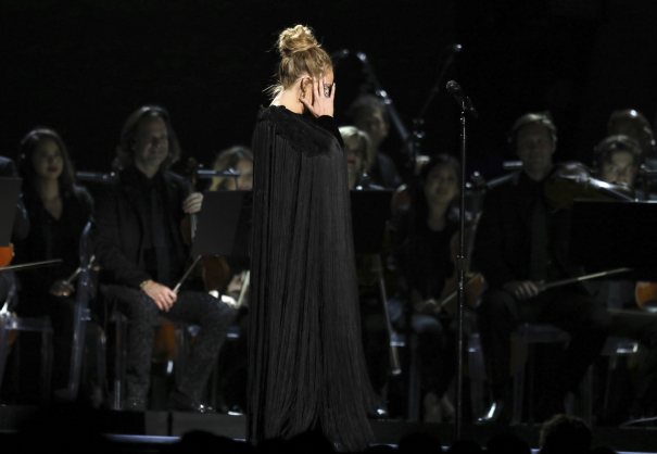 "Grammys Bleep Out Adele's ""F***"" During George Michael"