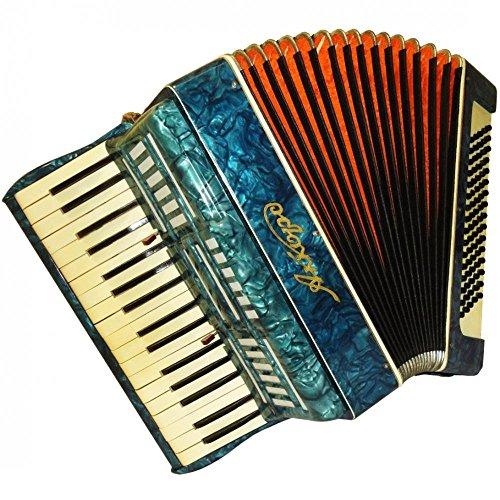 Very Nice Cheap Russian Piano Keyboard Accordion Akkord 80