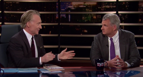 """Bill Maher Gets No Smiles From Tyranny Expert: """"I'm Not"""