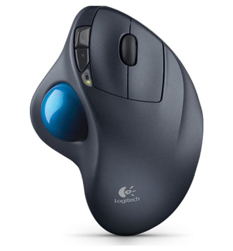 Logitech M570 Wireless Trackball, Computer Wireless Mouse,