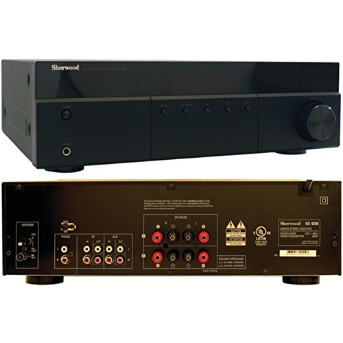 SHERWOOD RX-4208 200-Watt AM/FM Stereo Receiver Consumer