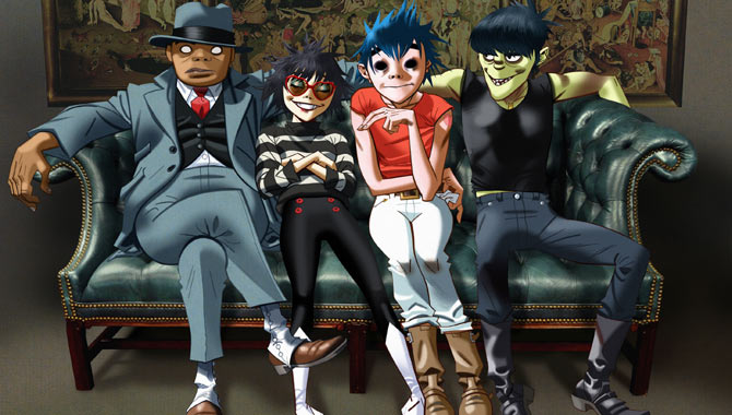 Gorillaz Perform 'Let Me Out' Live On The Late