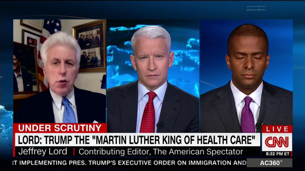 "Jeffrey Lord Doubles Down On Claim Donald Trump Is ""Martin"