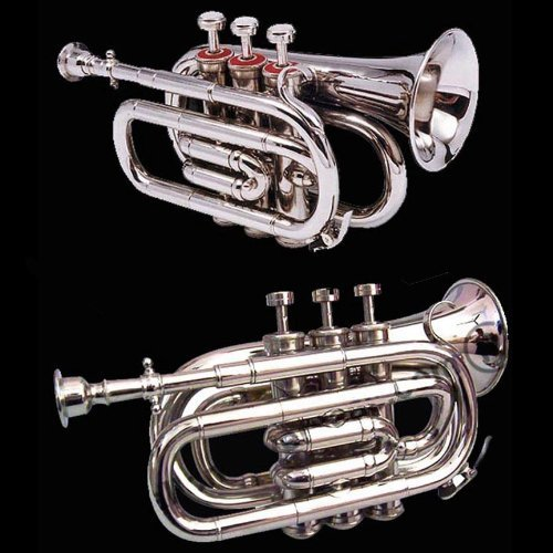 True Bb Zweiss Pocket Cornet, British Designed. A Real