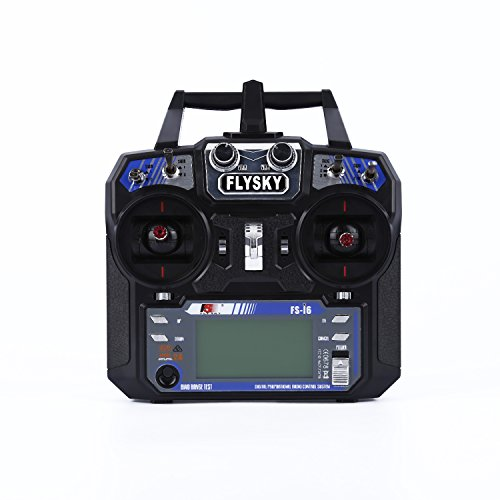 YKS FlySky FS-i6 Upgraded 2.4GHz 6 Channels Radio Control