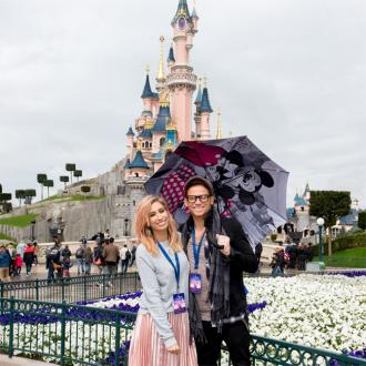 Stacey Solomon accompanies 40 kids to Disneyland Paris to