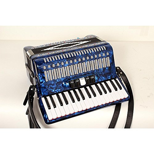 SofiaMari SM 3472 34 Piano 72 Bass Button Accordion Level