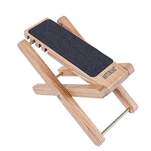Asturias Guitar Footstools Wooden Antiskid Guitar Foot