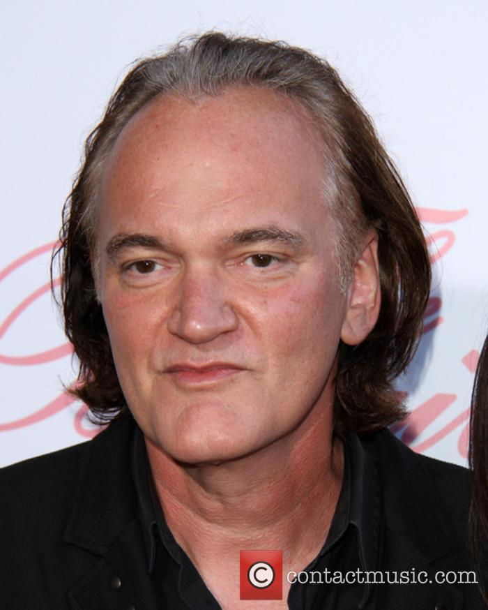 Quentin Tarantino at the premiere for 'The Beguiled'