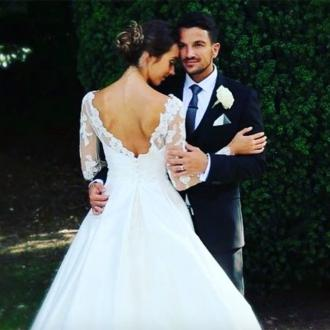 Peter Andre's anniversary tribute to wife Emily
