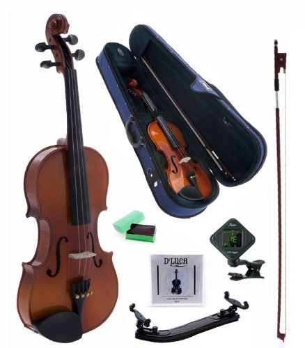 D'Luca CAD01 Orchestral Series Violin Outfit – 1/16