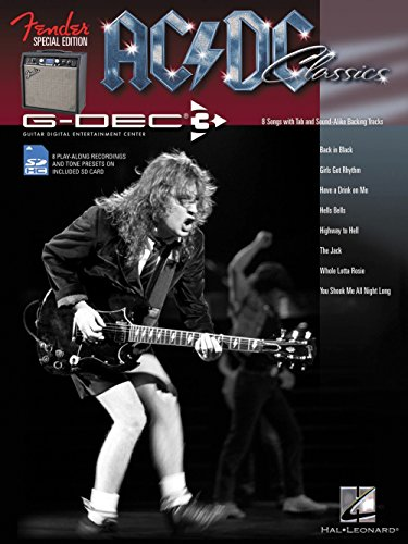 Hal Leonard Fender G-Dec AC/DC Play-Along Guitar