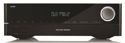 Harman Kardon AVR 1610 5.1-Channel 85-Watt Roku Ready