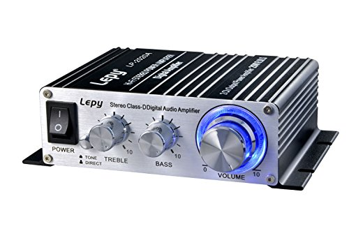 Lepy Amplifiers Audio Component Amplifier, Black (LP-2020A