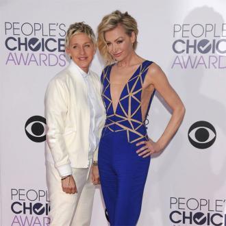 Ellen Degeneres praises 'understanding' wife