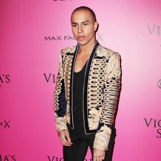 Olivier Rousteing is 'addicted' to early morning