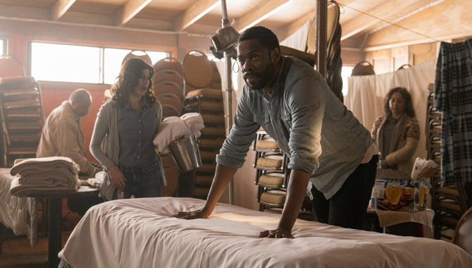 Colman Domingo as Victor Strand in 'Fear The Walking Dead' season 3