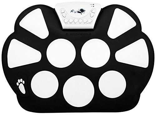 Top-Longer Portable Electronic Drum Pad Kit with Drum