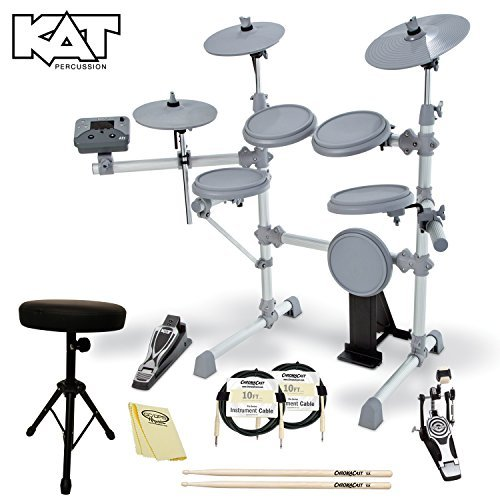 KAT Percussion JF-KT1-KIT-02 KT1 Digital Drum Set with