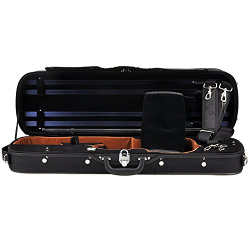 ADM Professional Sturdy Violin Case 4/4 Full Size, Oblong